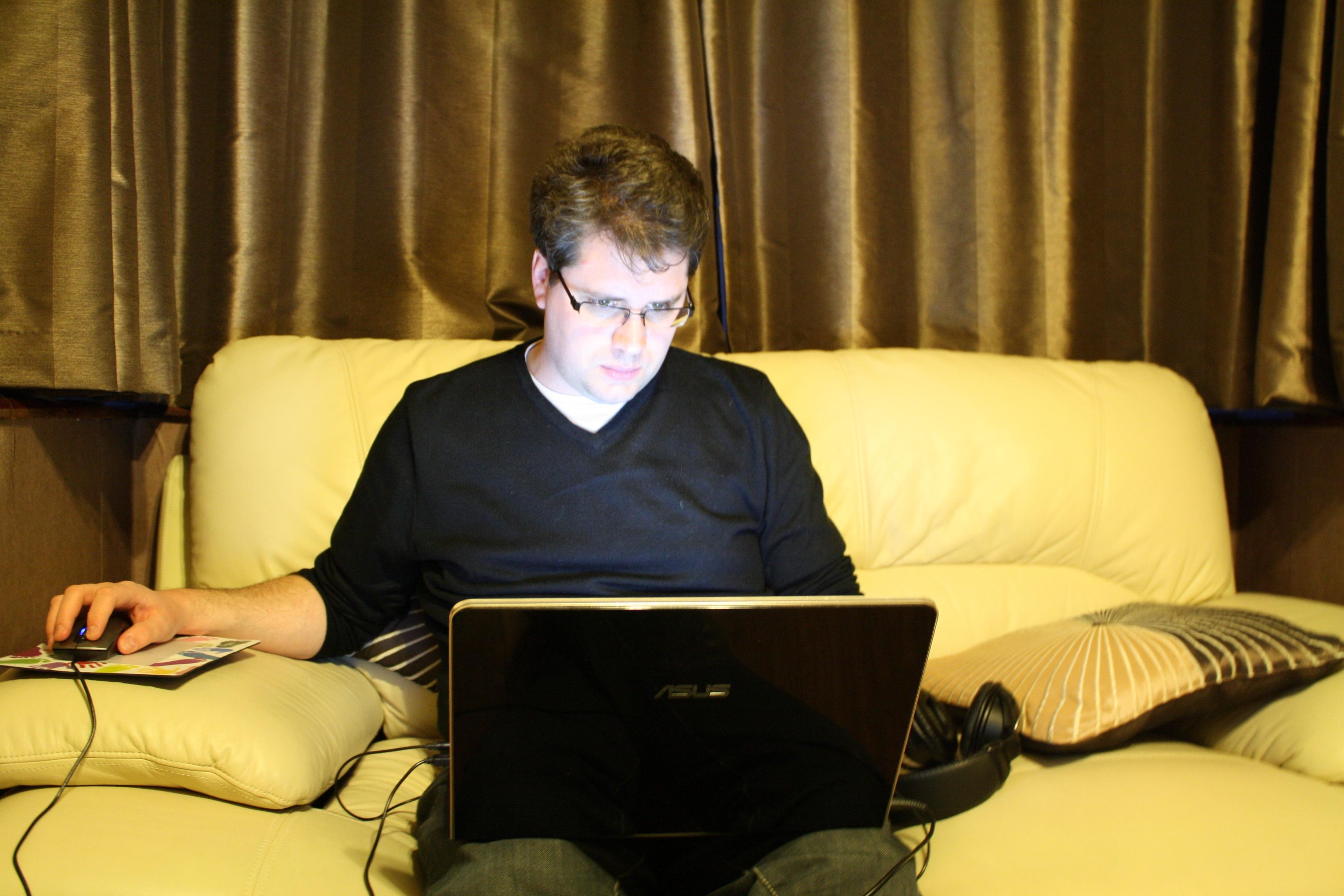 Eliot Higgins, citizen journalist