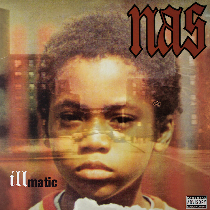 Front cover Nas - Illmatic