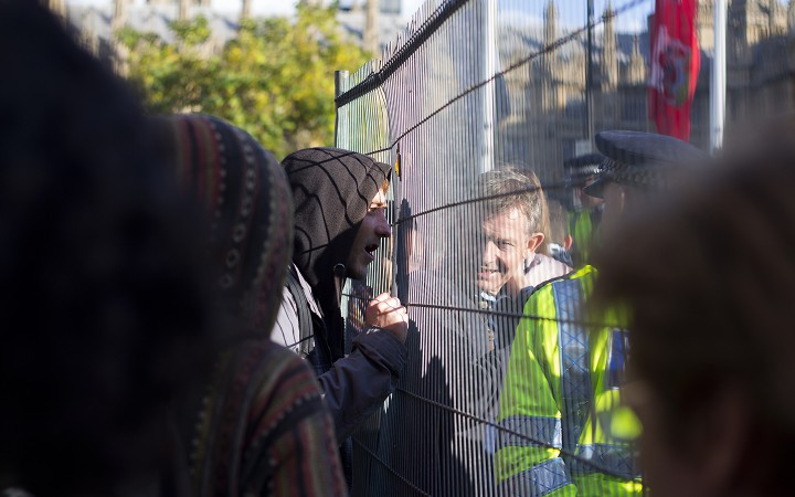 Occupy Democracy Parliament (Photo by Hannah Hutchins)