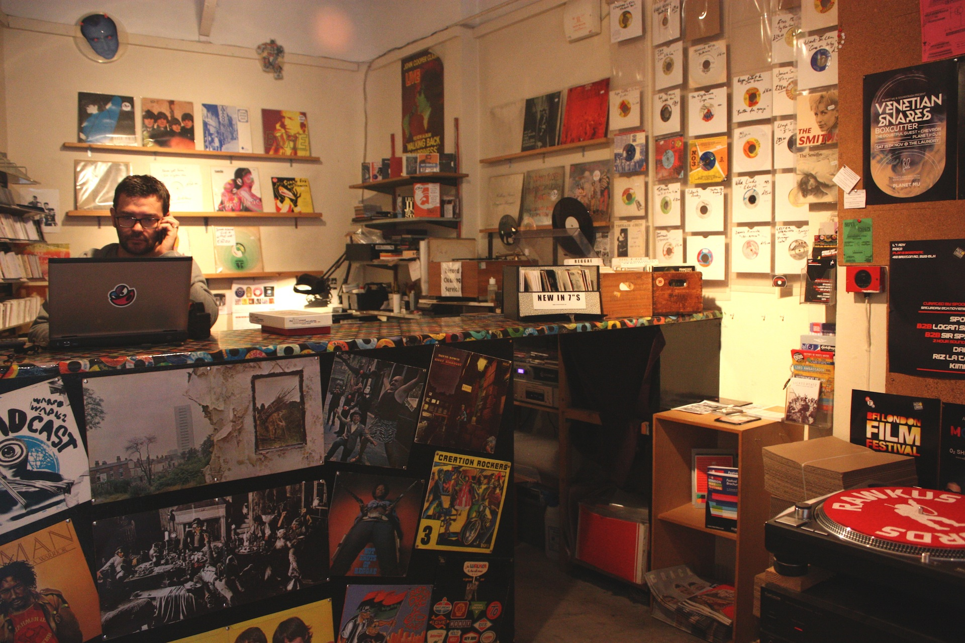 Record Store Article - Rat Records
