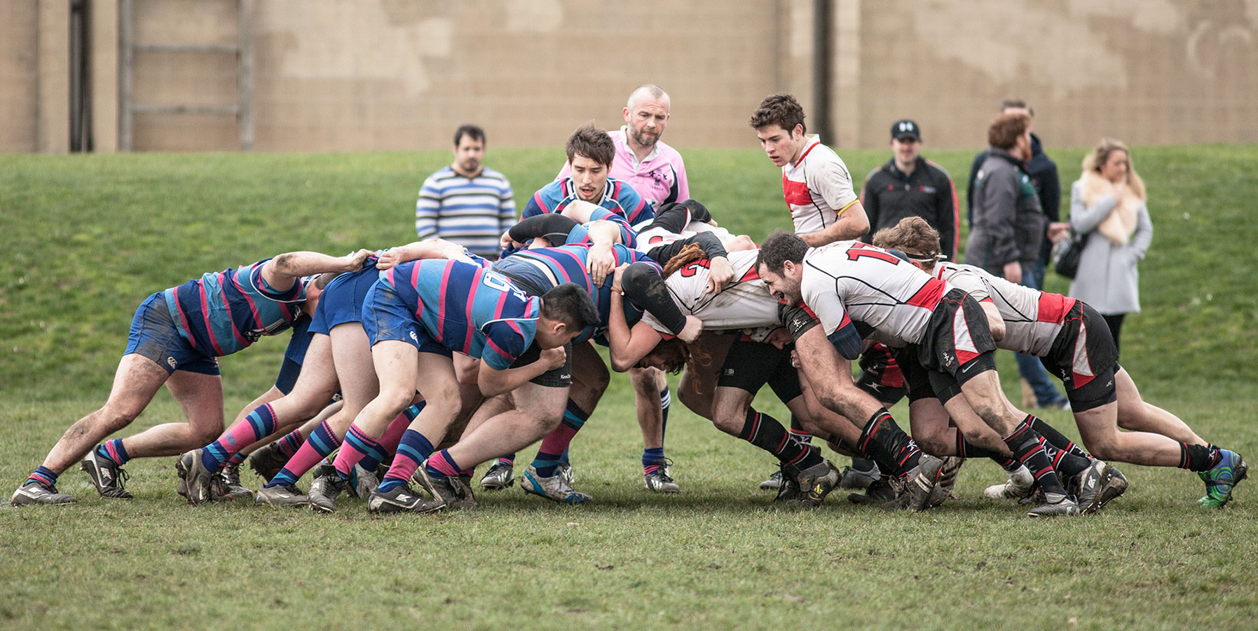 UAL 1st XV take on City University, February 2014 [Josh Hayes]