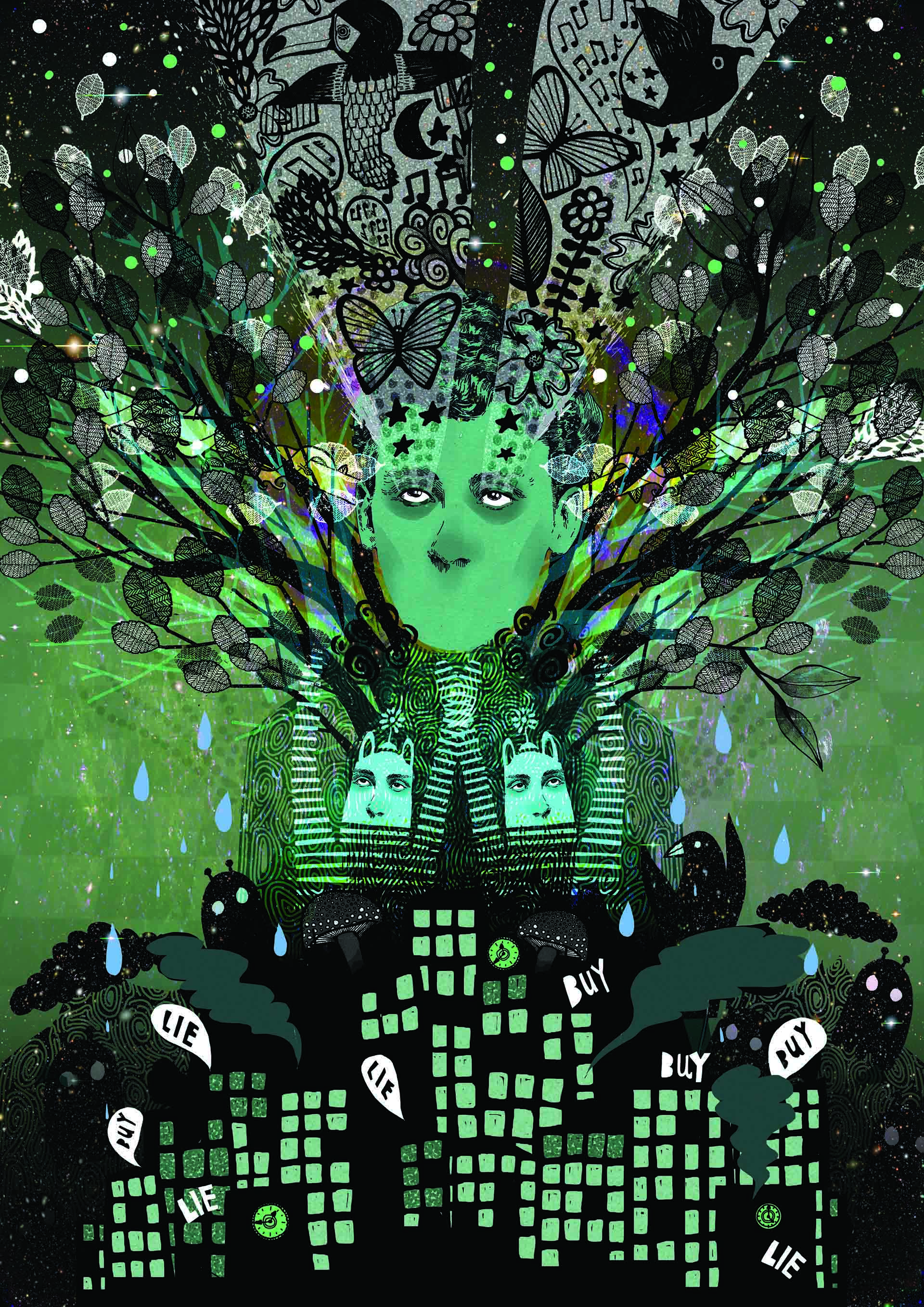 ayahuasca-illustration-3-rebecca-hendin-hallucination-psychedelic-trip-spiritual-capitalism-dream-a3-cmyk
