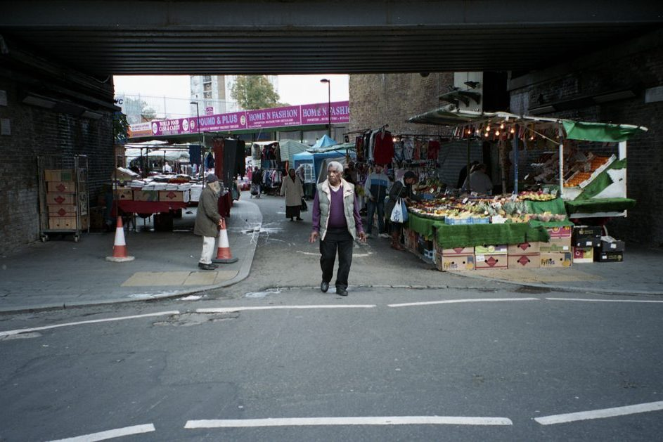 Brixton's outdoor market.