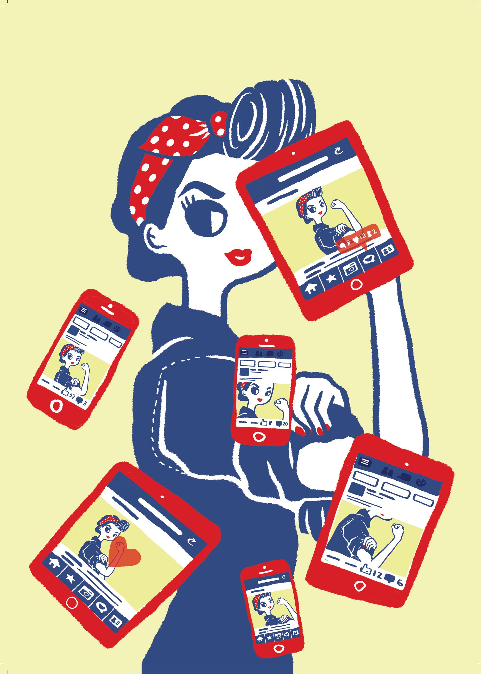 Digital age Rosie