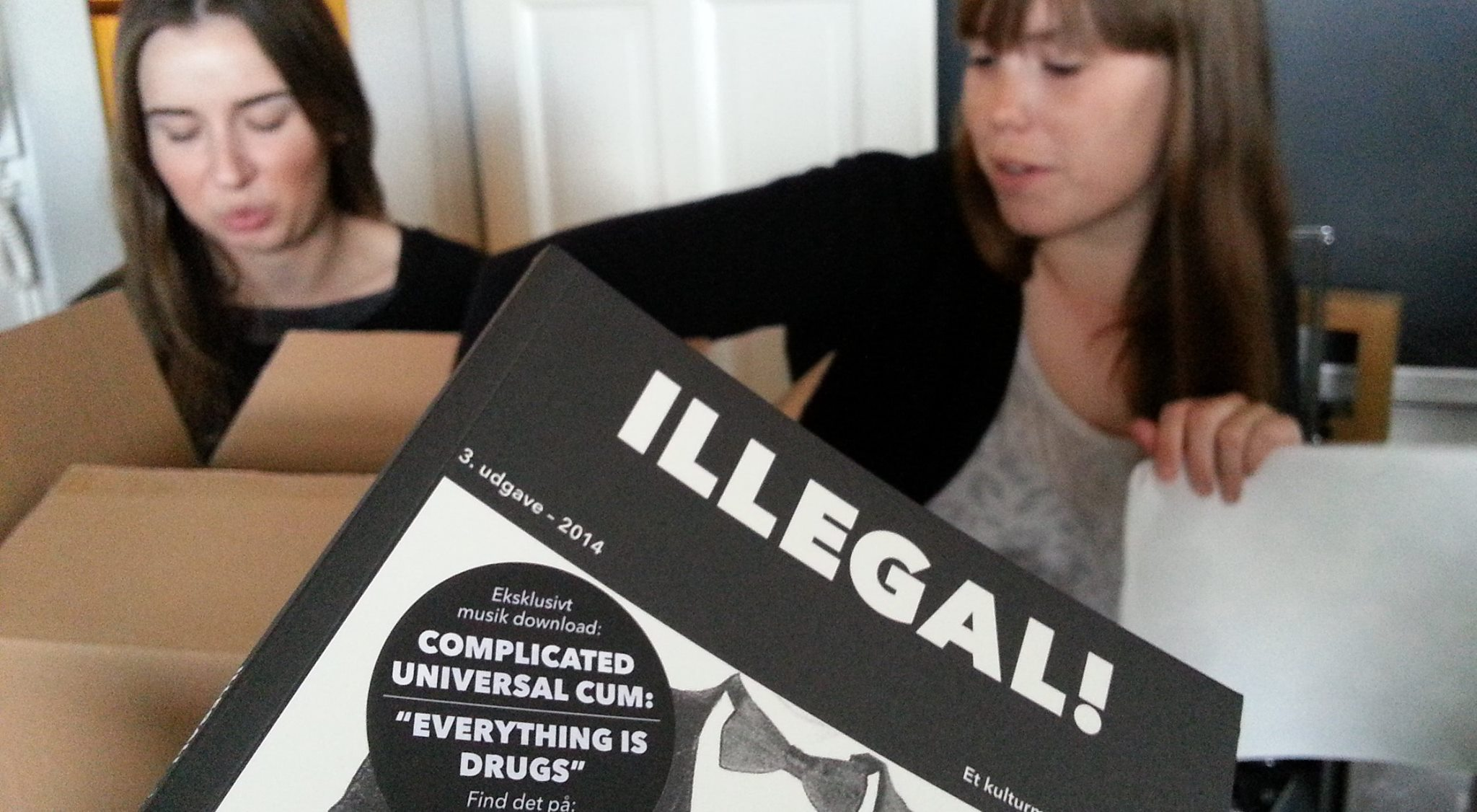 ILLEGAL! Magazine being prepared for launch