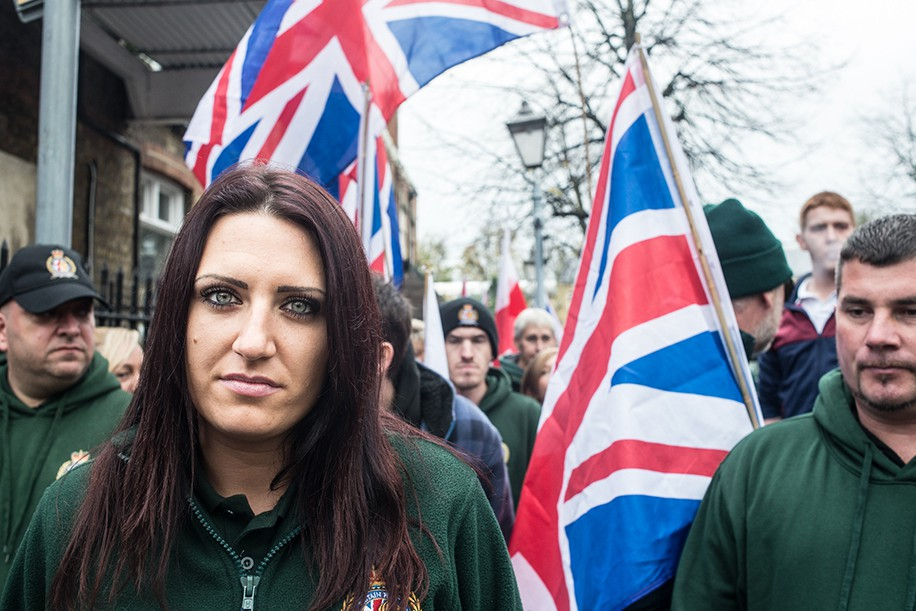 Britain First Rally. Rochester, Kent.