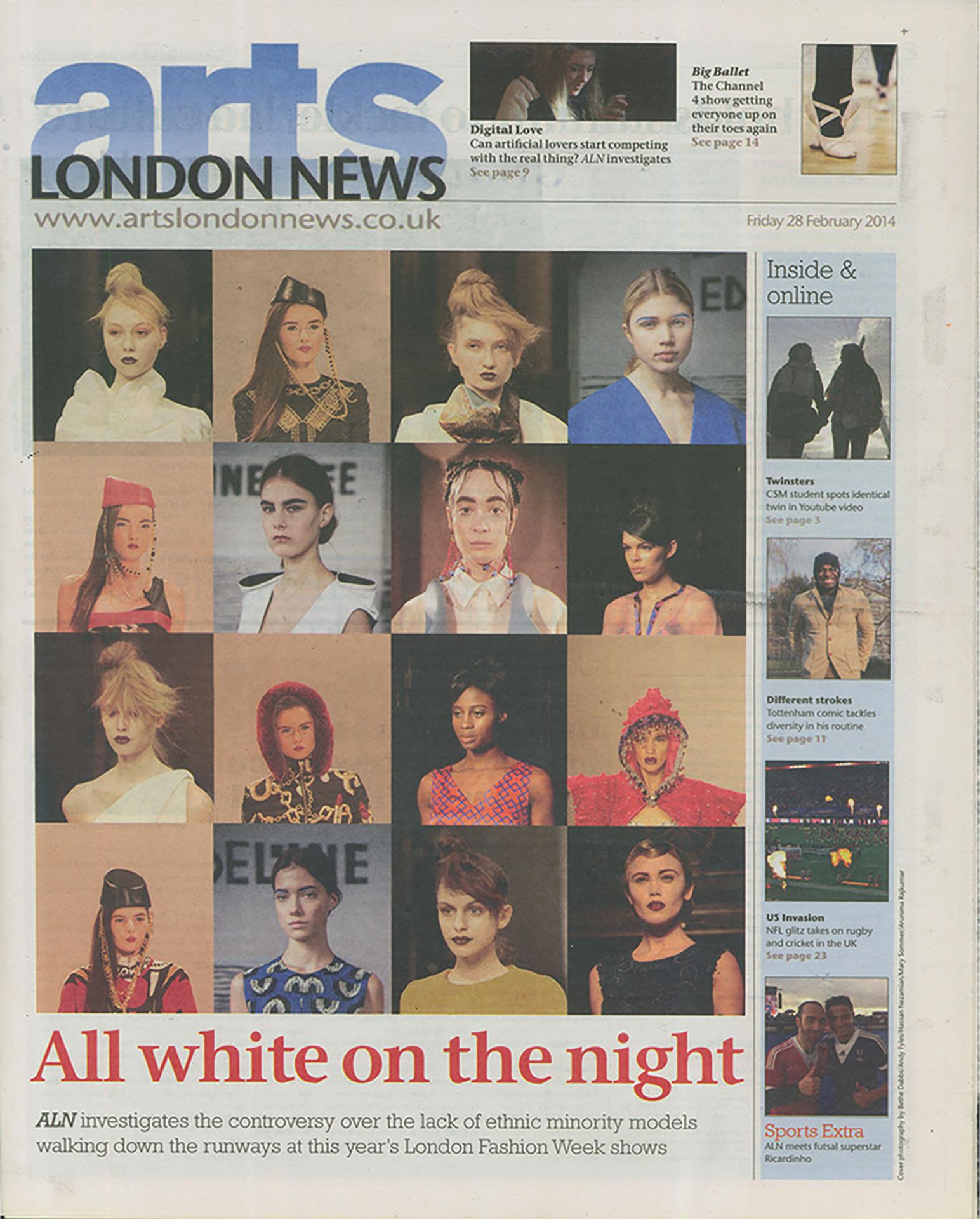 Arts London News last BA edition