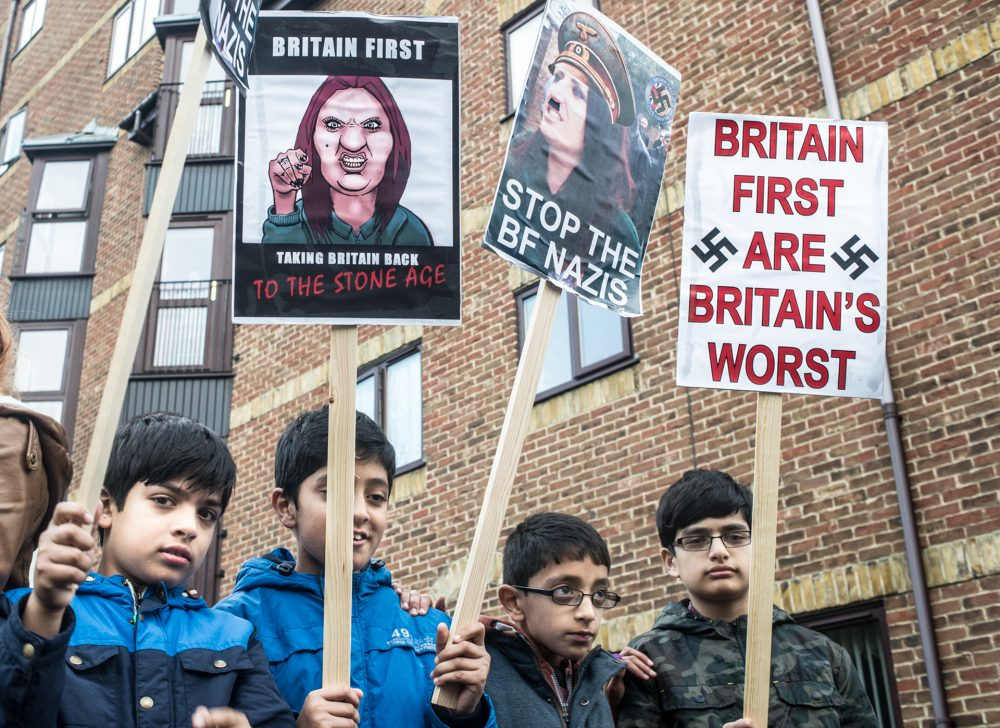 Young Muslims Protest