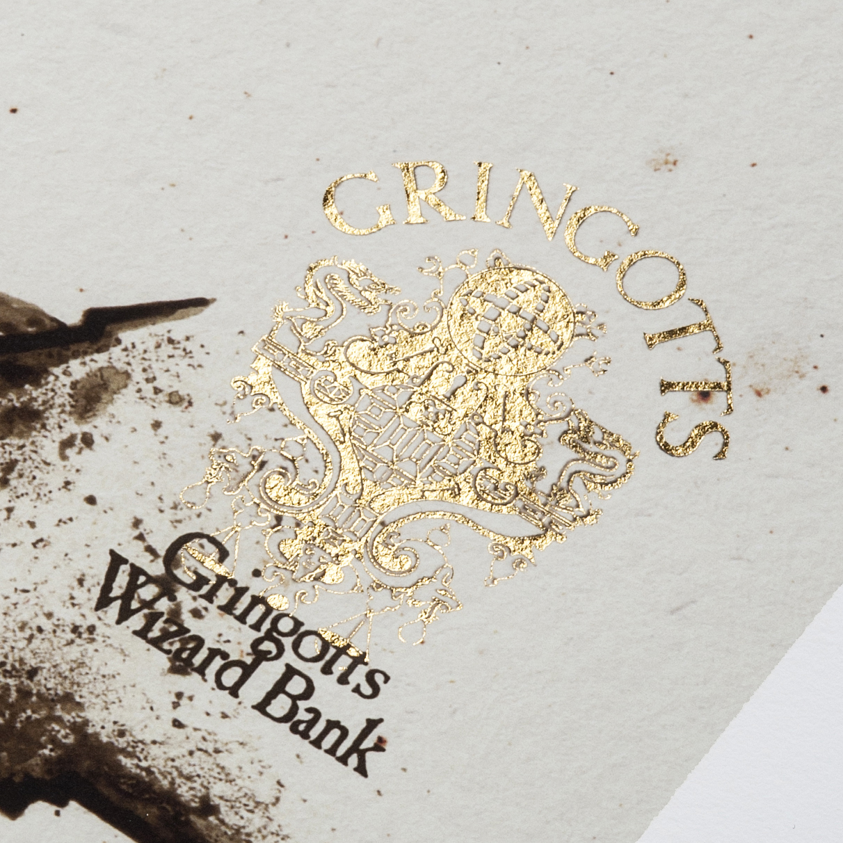 Gringotts wizarding bank detail