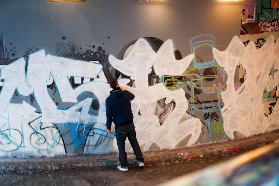 Graffiti Tunnel Art London