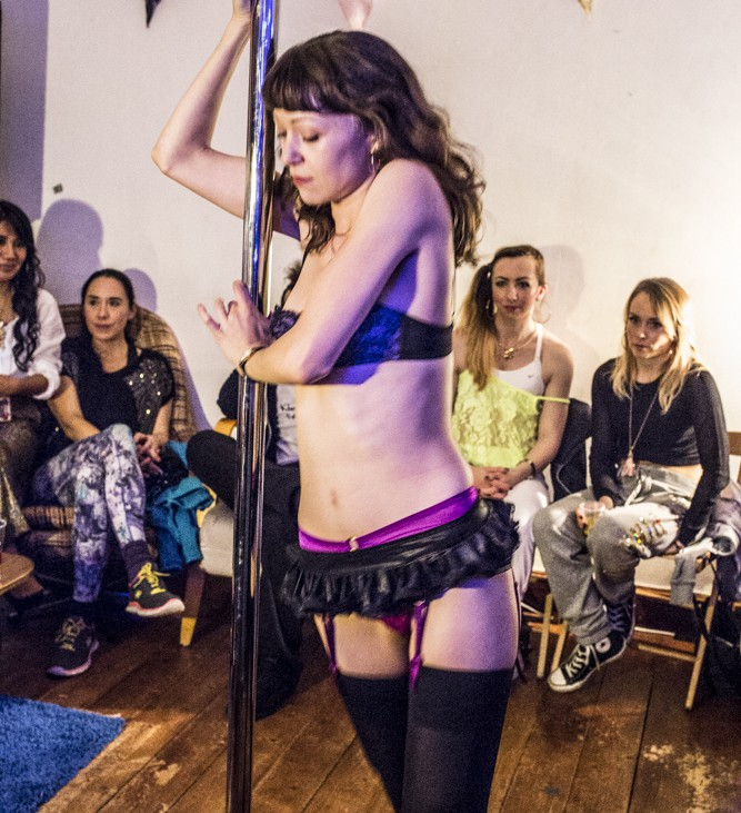 Employment as a stripper in london