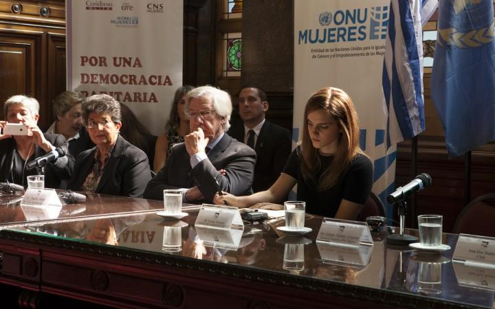 UN Women Goodwill Ambassador Emma Watson Visits Uruguay