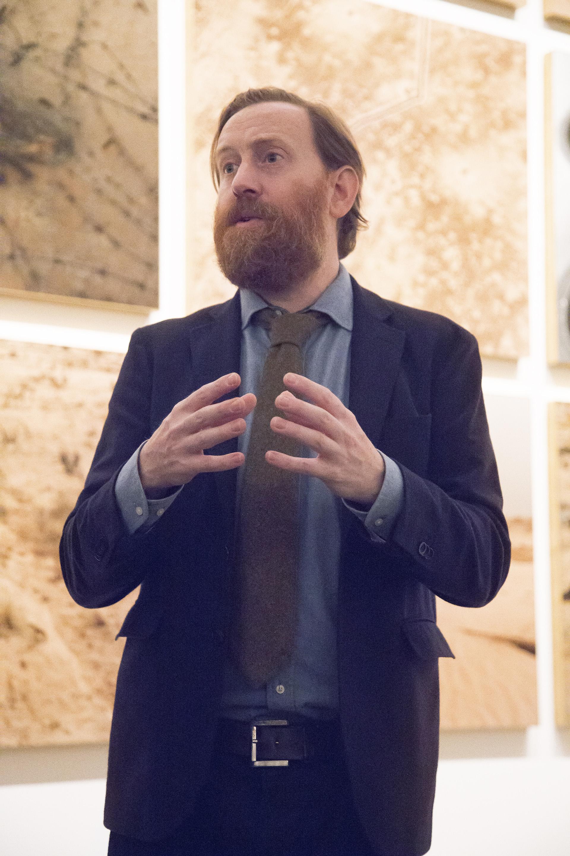 Simon Baker, exhibition curator