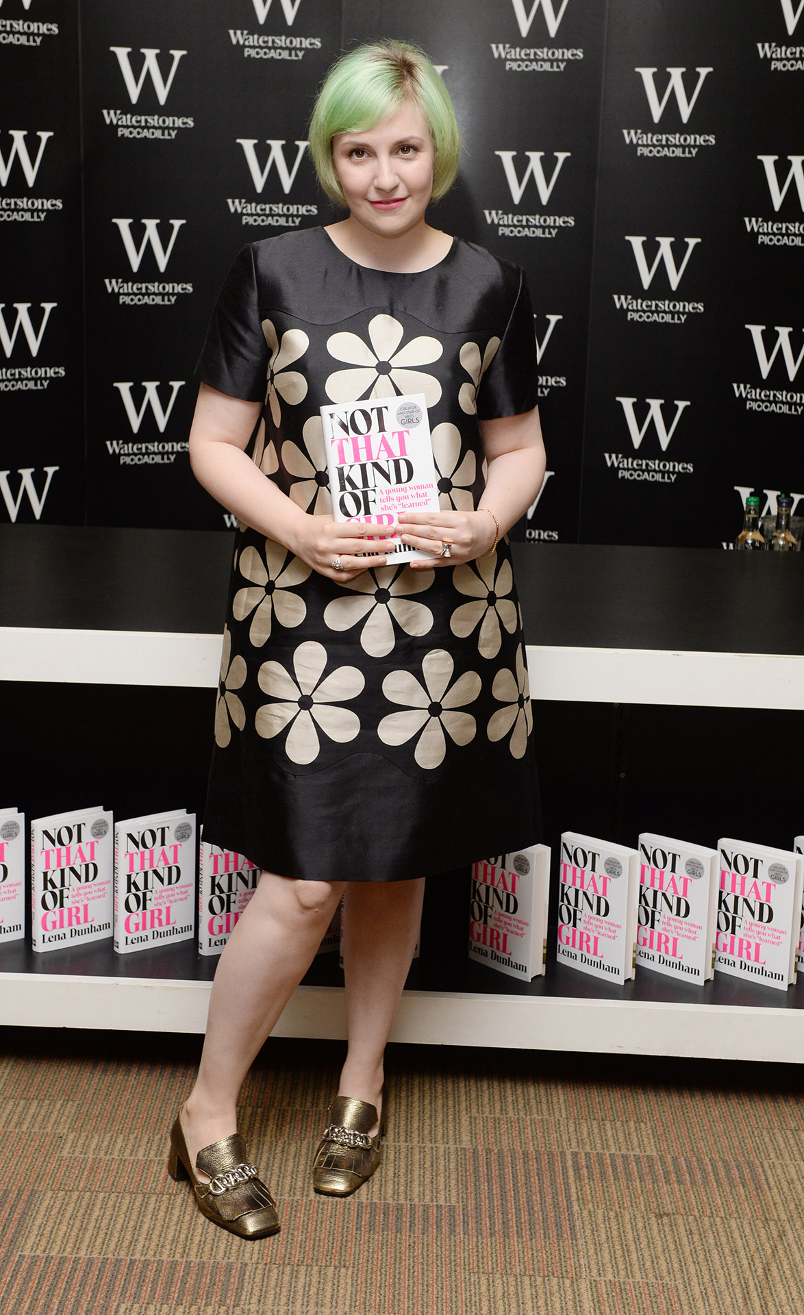 Lena Dunham at Waterstones Piccadilly