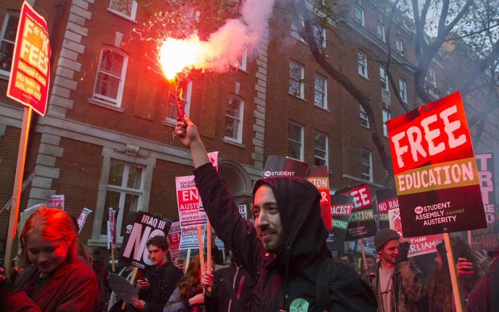 National Student Demo, 19th November 2014, Central London Photographs by Hannah Hutchins