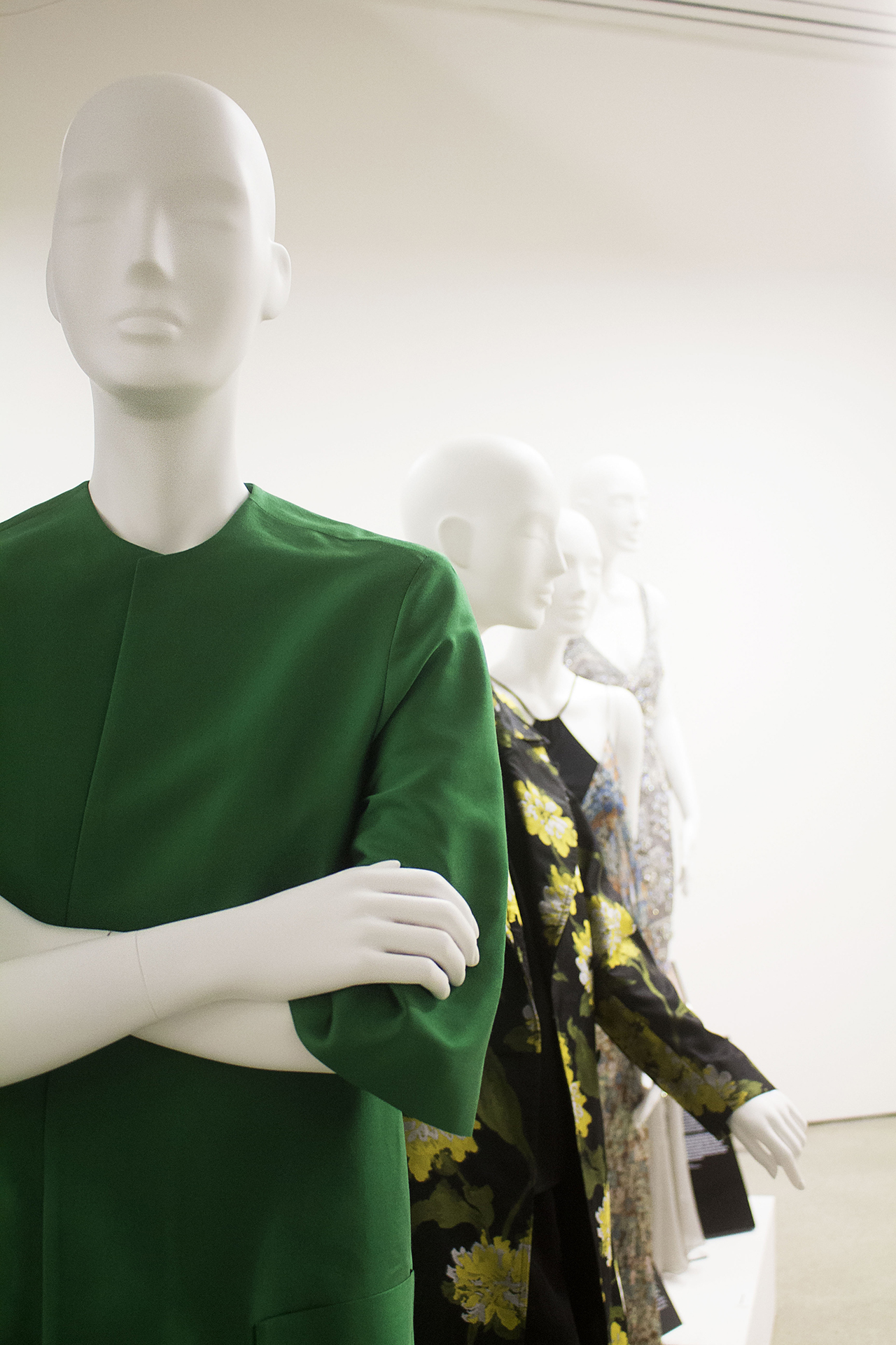 Women Fashion Power - Fashion Exhibition - Design Museum London Photography by Hannah Hutchins