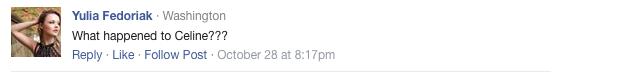 Céline shoe Facebook opinion 3