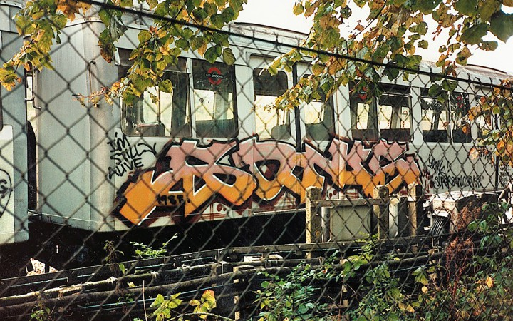 New York Graffiti in the UK