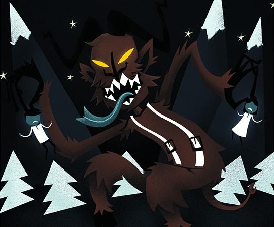 Krampus the christmas monster