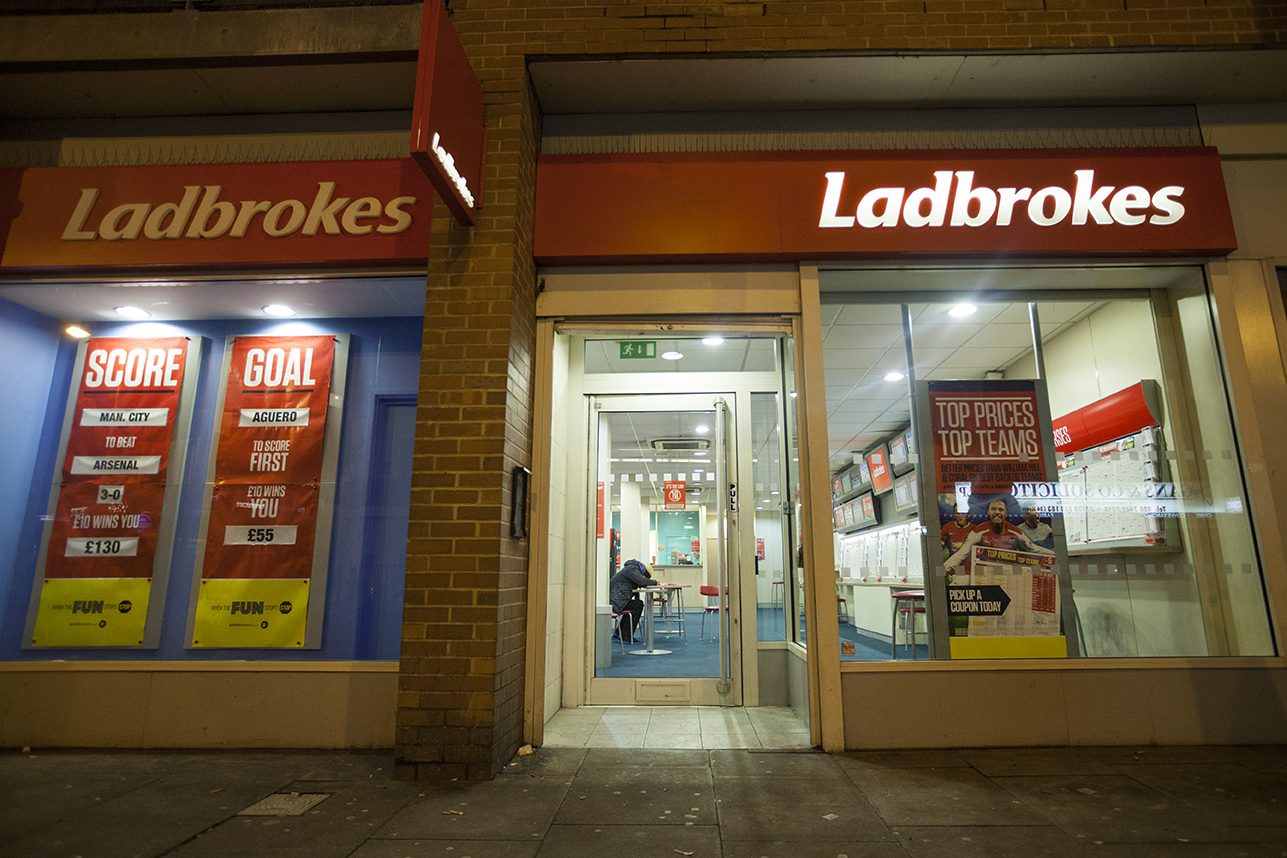 betting shops, gambling, south east london