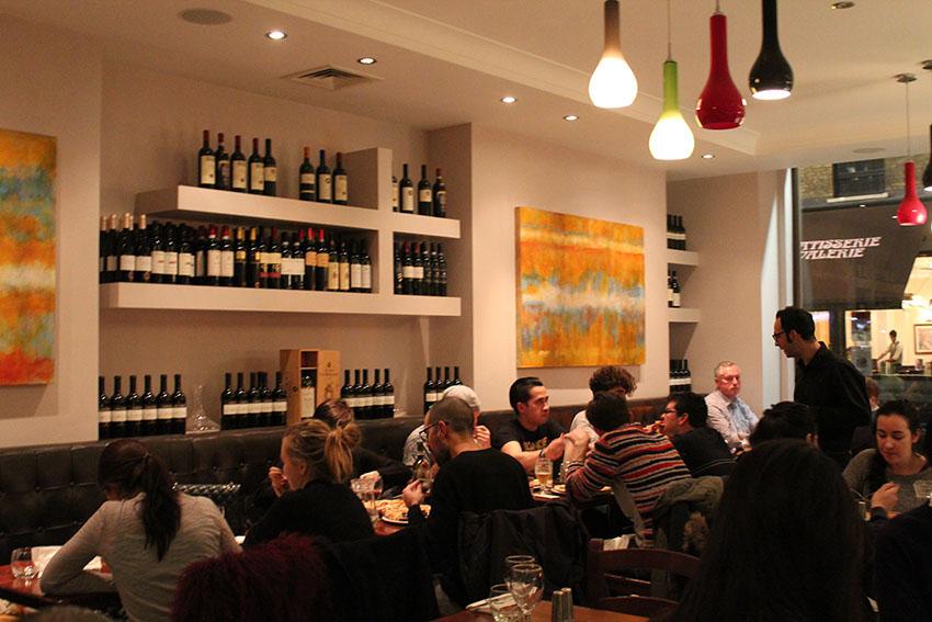 Sartori restaurant, Leicester Square. [Elvira Nuriakhmetova]