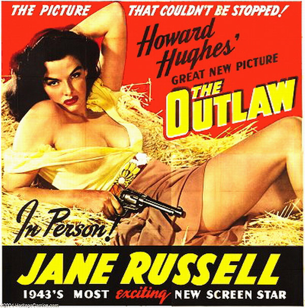 Poster, The Outlaw