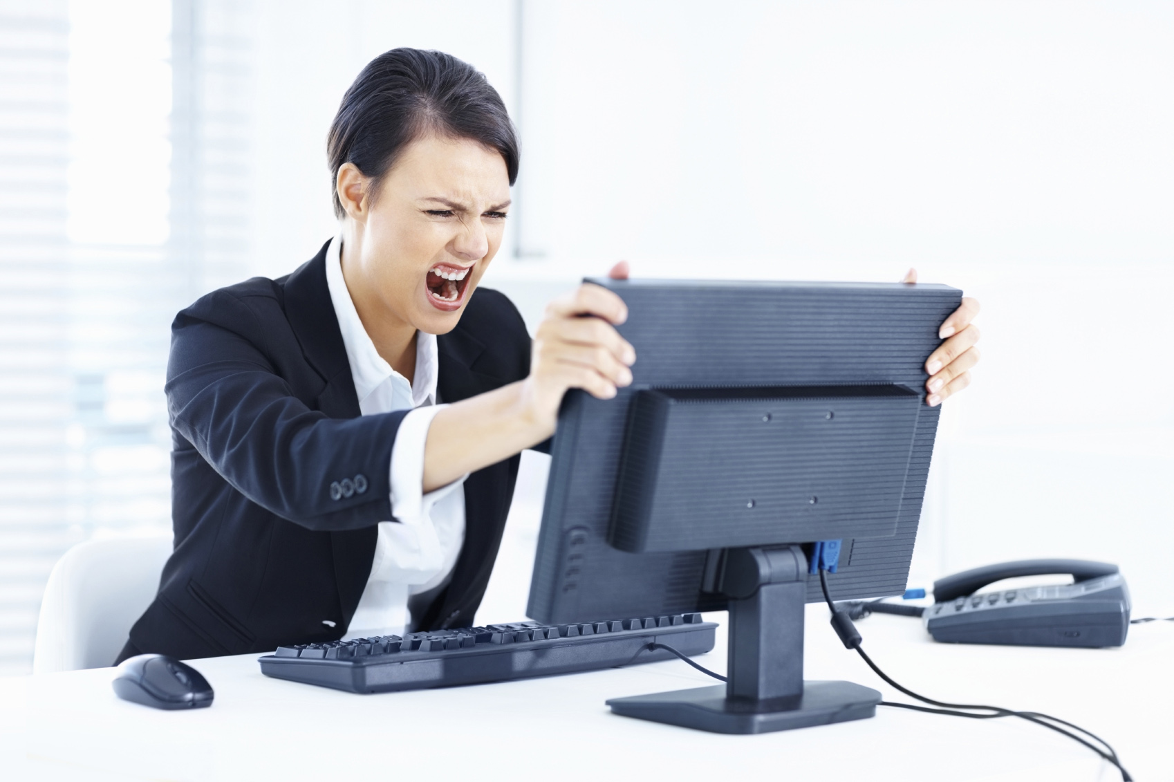 Angry_Lady_Computer_Office