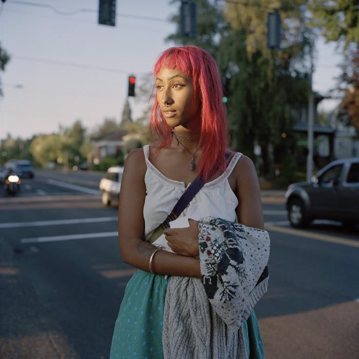 Winta, originally from Eritrea, and now studying in Portland, Oregon. [Carl Bigmore]