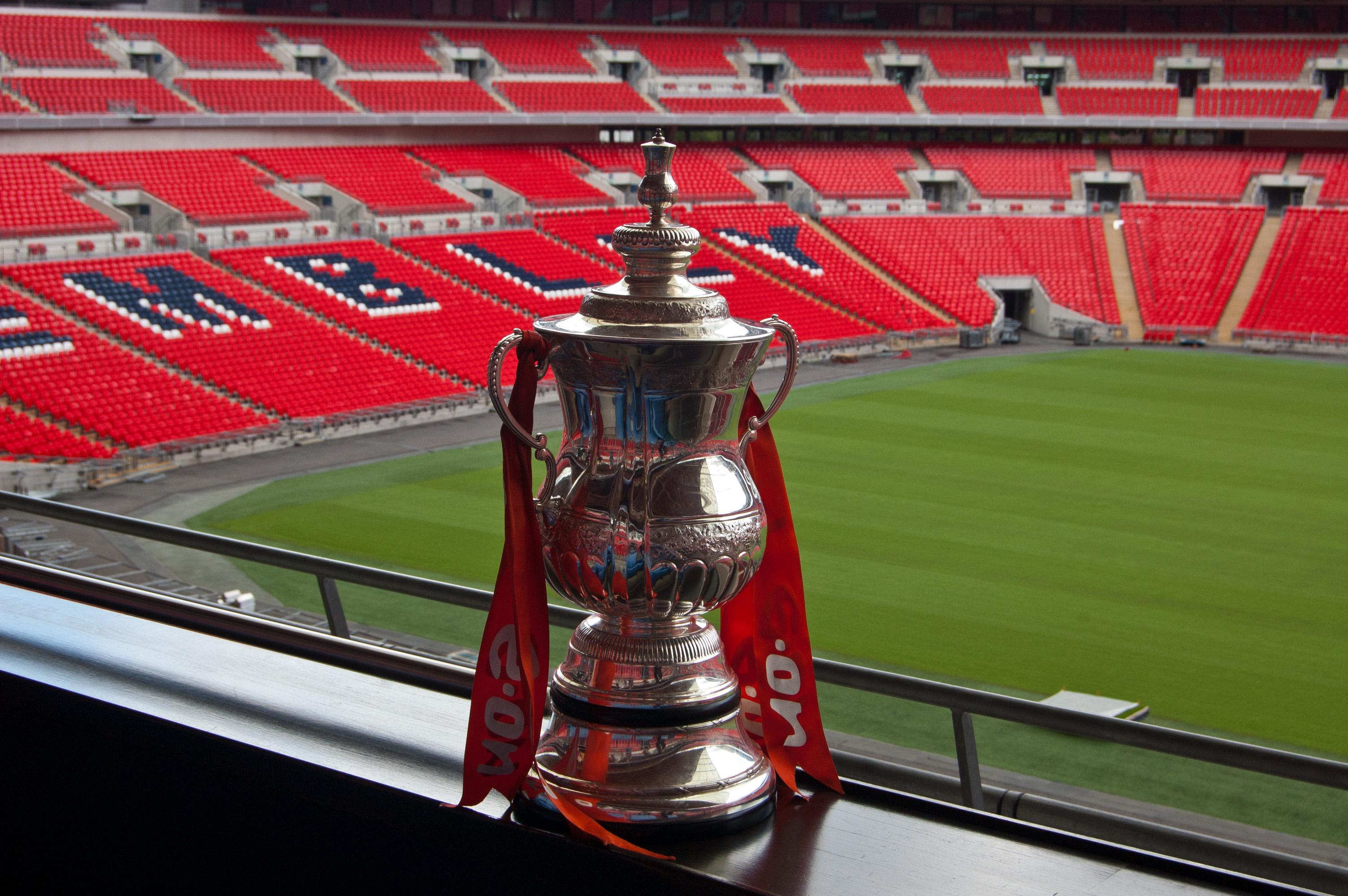 FA Cup at Wembley Stadium London Photo Flickr: Dave Gunn