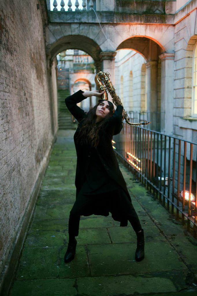 PJ Harvey at Somerset House [Seamus Murphy]