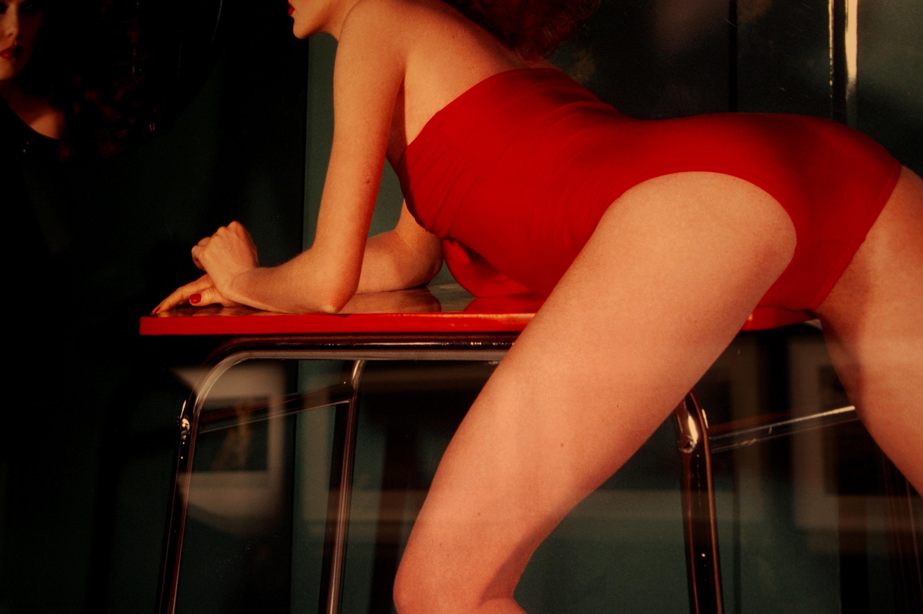 GuyBourdin_Legs_Red_Burlesque