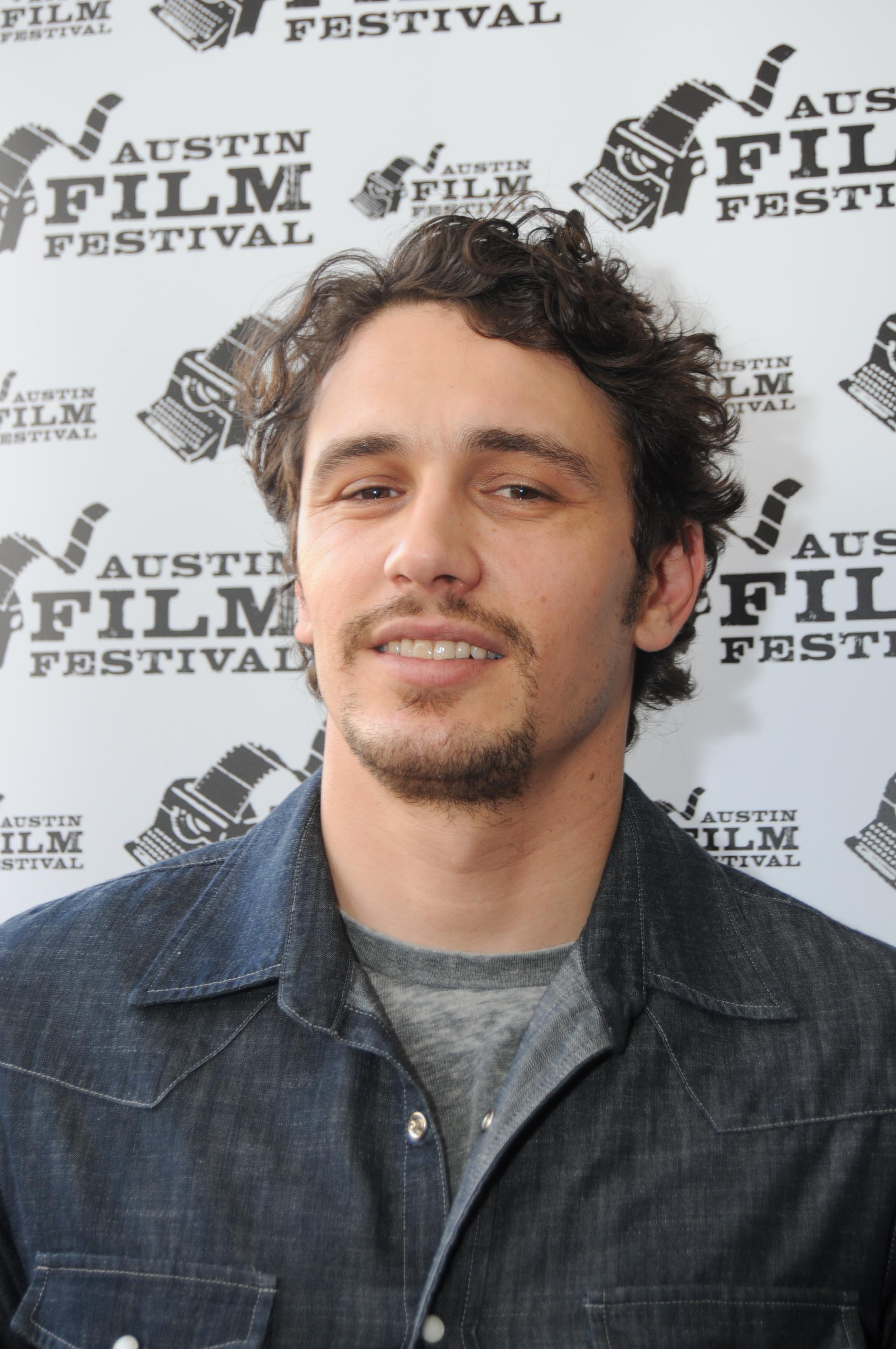 James Franco at the Austin film festival