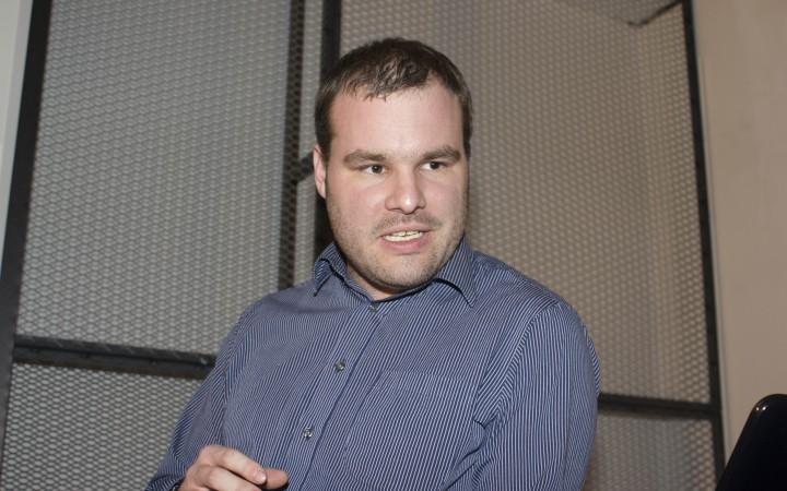 Dr Gareth Owen at Cybersalon [Corali Houlton]