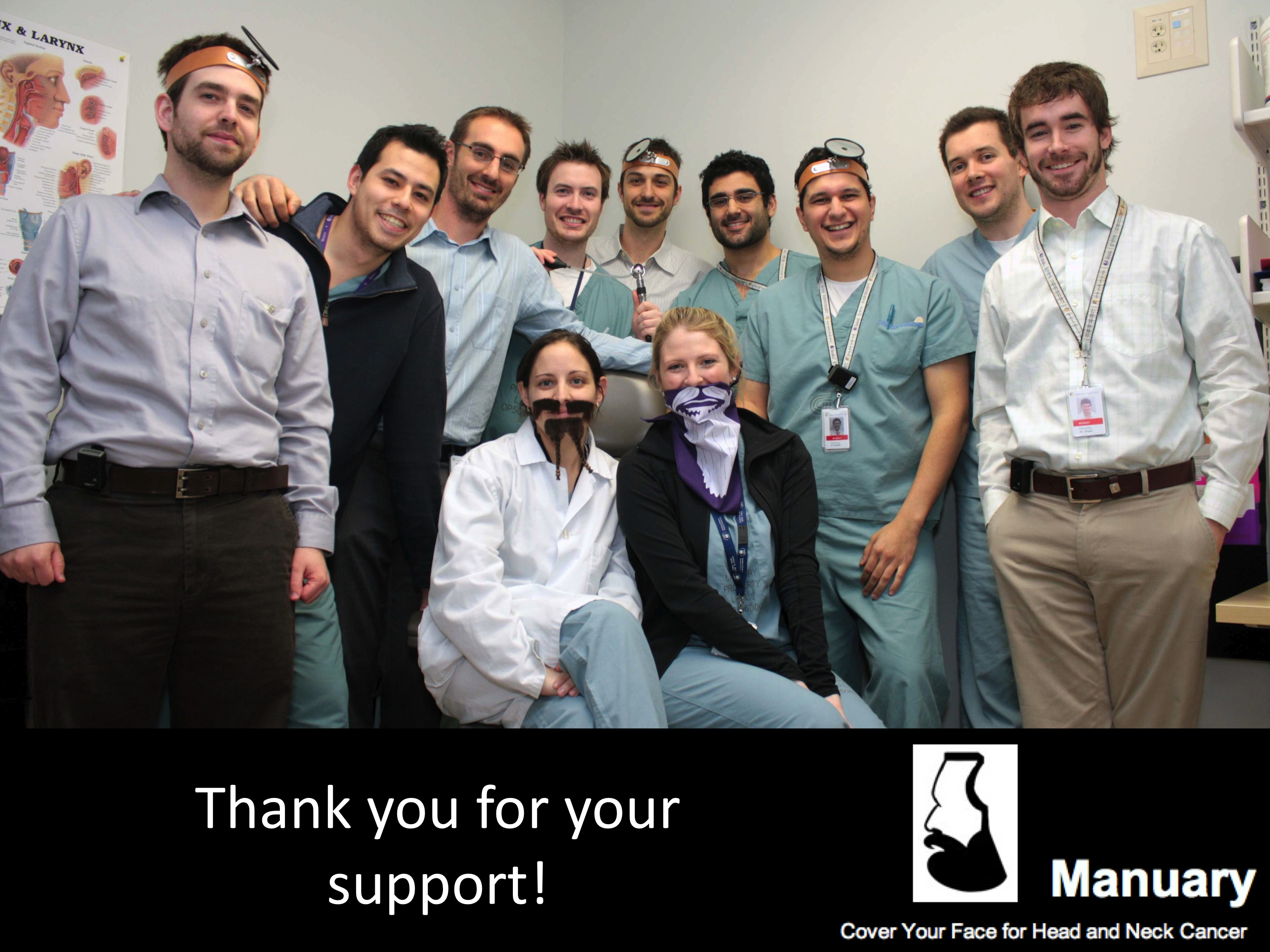 Manuary team in Canada. Manuary_beards_cancer_head_neck