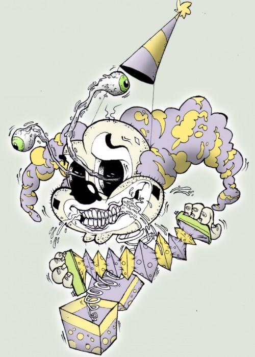 Ed Cox clown