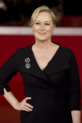 Meryl Streep posing on the red carpet [Flickr: Vincent Luigi Molino]