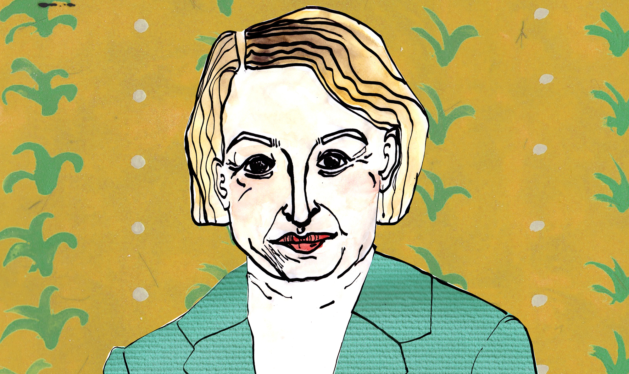 natalie bennett colour drawing [Jasmine Parker]
