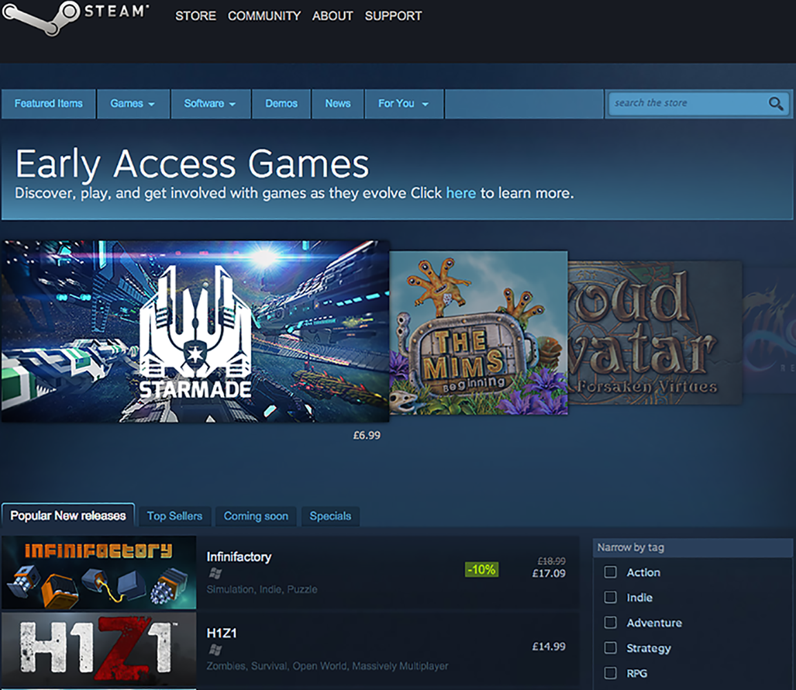 Steam_Gaming_Early Access