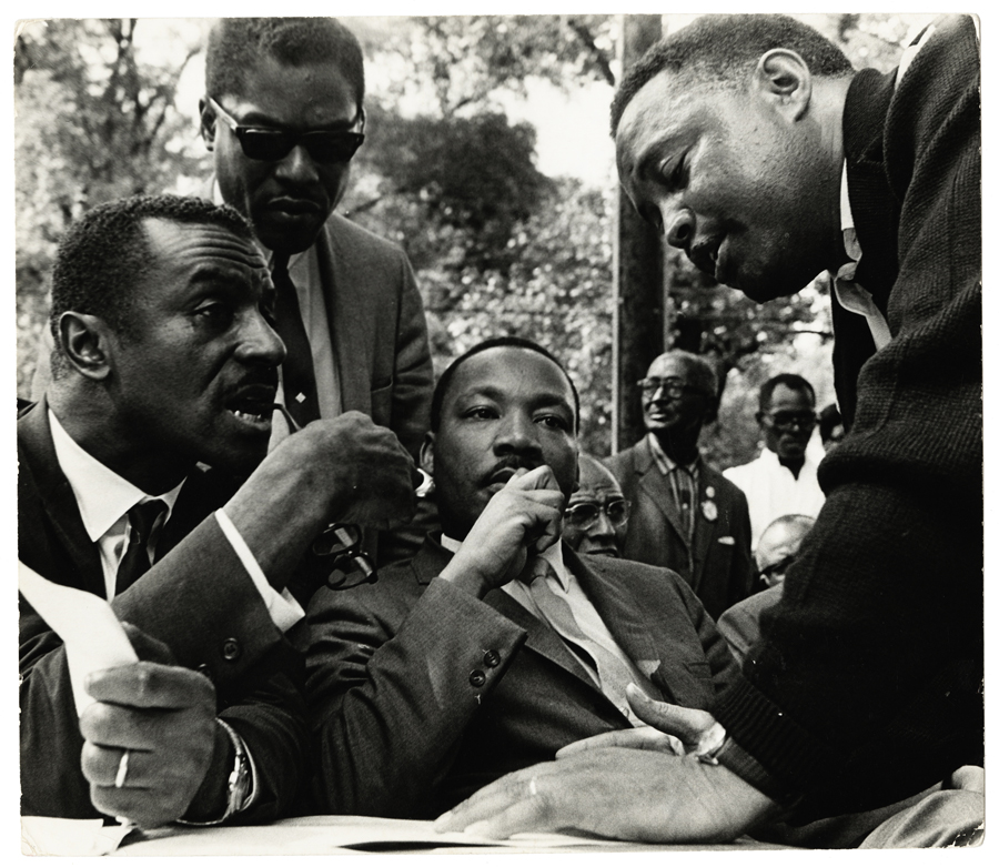 Dr Martin Luther King Photographer [Bob Fitch] Image courtesy of Photographers Gallery / Ryerson Image Centre.