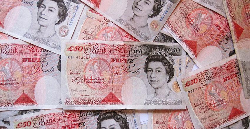 £50 notes for Jenny Estacio
