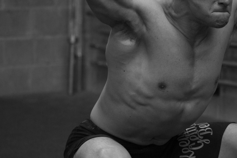 Liam lifting.