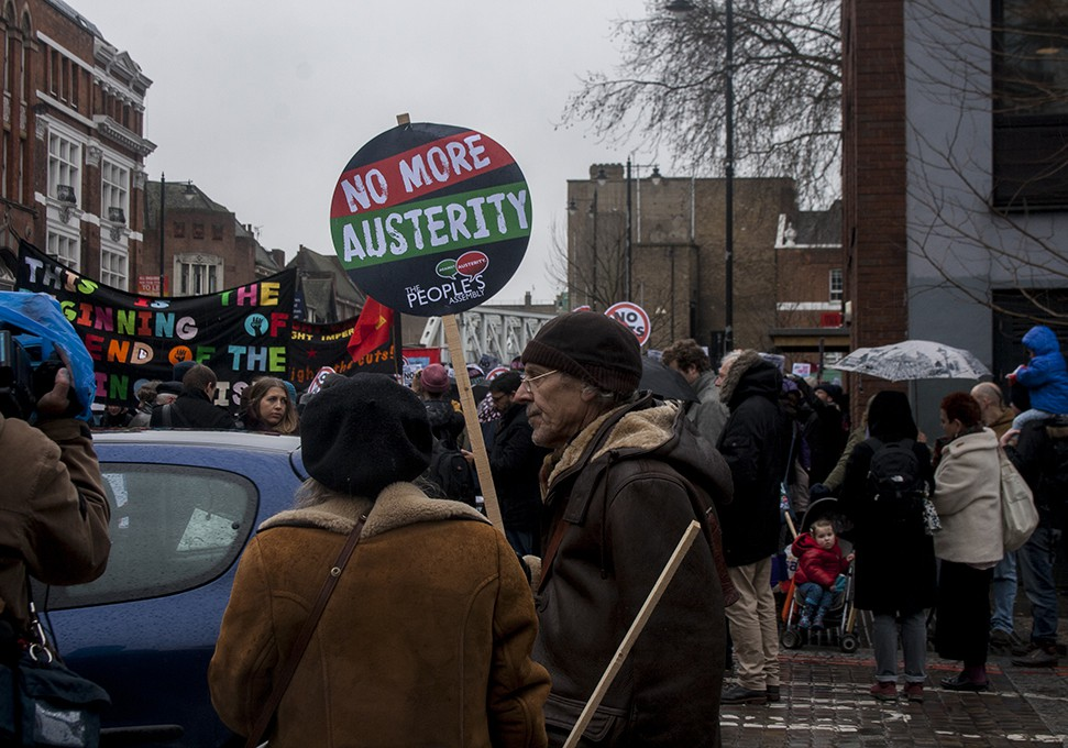 March for homes East London