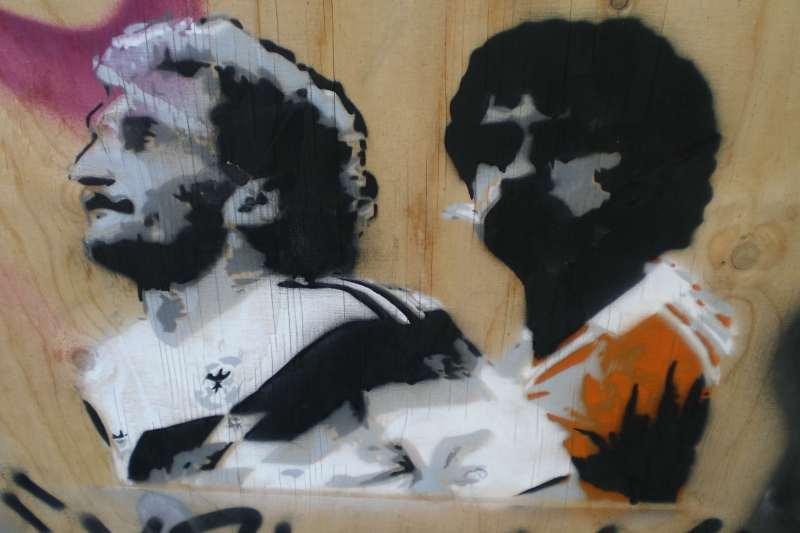 Voller vs. Rijkaard [Flickr: Mark Ponte]