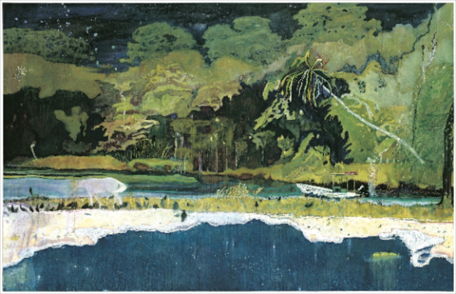 Grande Riviere by Peter Doig