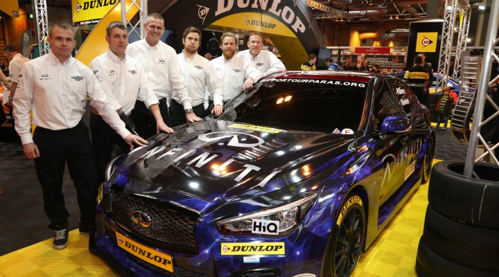 Infiniti Red Bull rally car