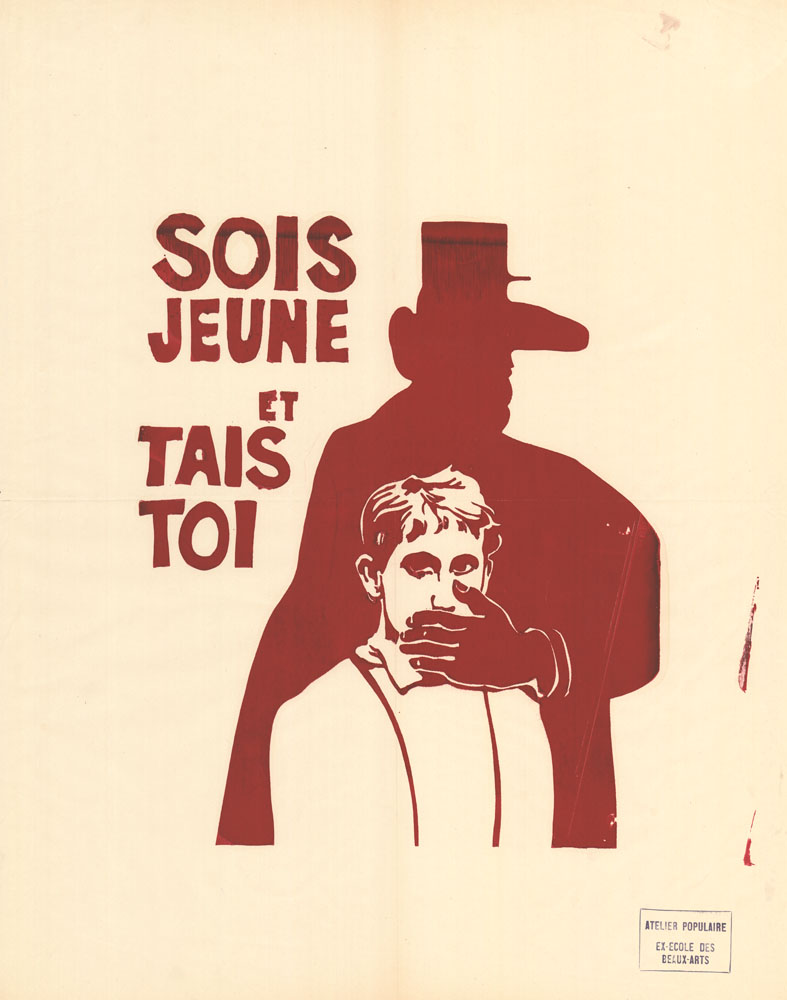 Poster: Sois Jeune et Tais Toi – Be young and shut up