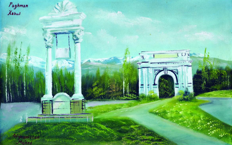 'Pagman, Kabul' by Majeed