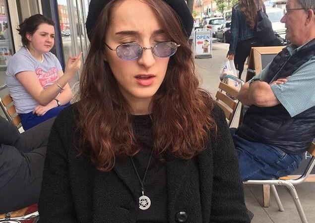 Philosophy student Sofia Wrazen