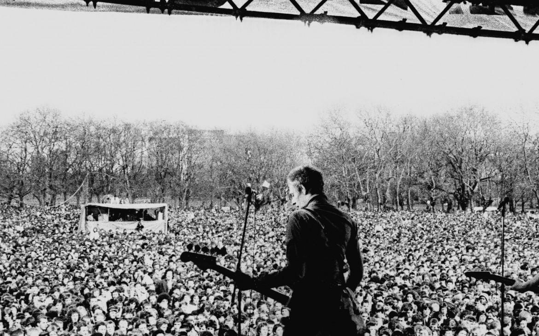 Paul Simonon, The Clash, RAR Carnival 1, Victoria Park London 1978, Copyright Syd Shelton
