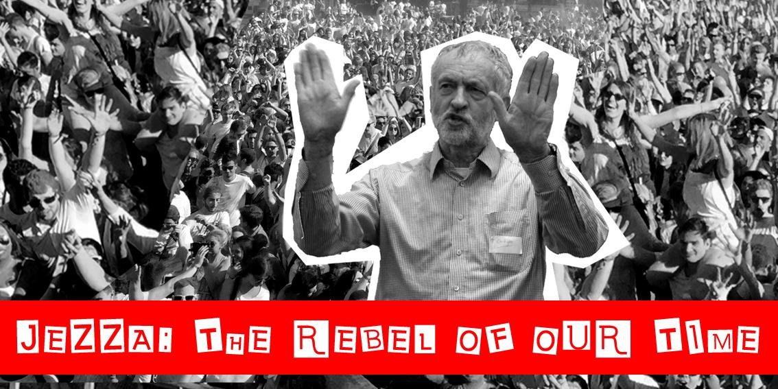 Graphic of Jeremy Corbyn
